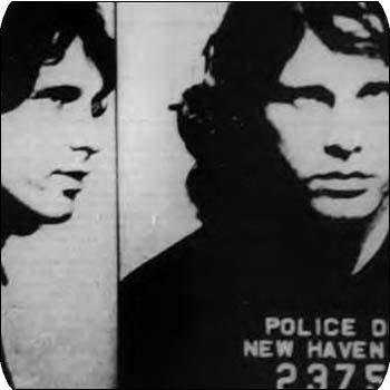 Jim Morrison's Mug Shot